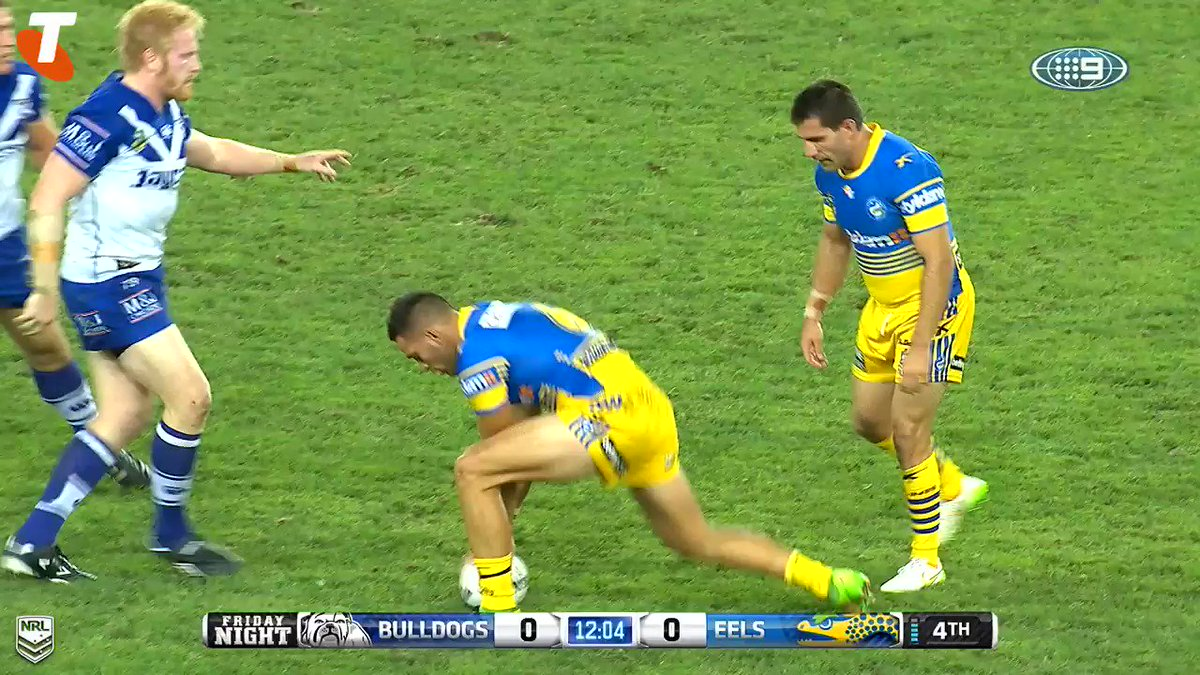'Put him in the circus!'  #NRLEelsBulldogs is tonight at 7.50pm at @AN...