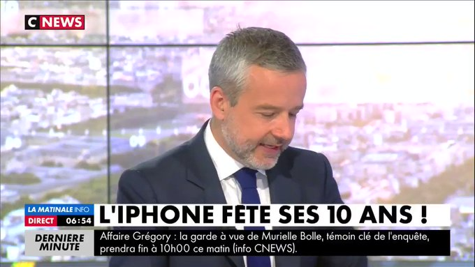 L'#Iphone fête ses 10 ans ! On en parle avec la journaliste Leila Marchand