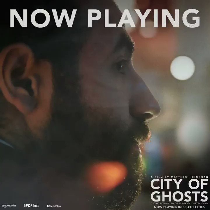 """""""TRIUMPHANT"""" """"JAW DROPPING"""" """"HARROWING"""" """"POWERFUL"""" #CityofGhosts opens today in NYC. Buy tickets: http://tickets.cityofghosts.com"""
