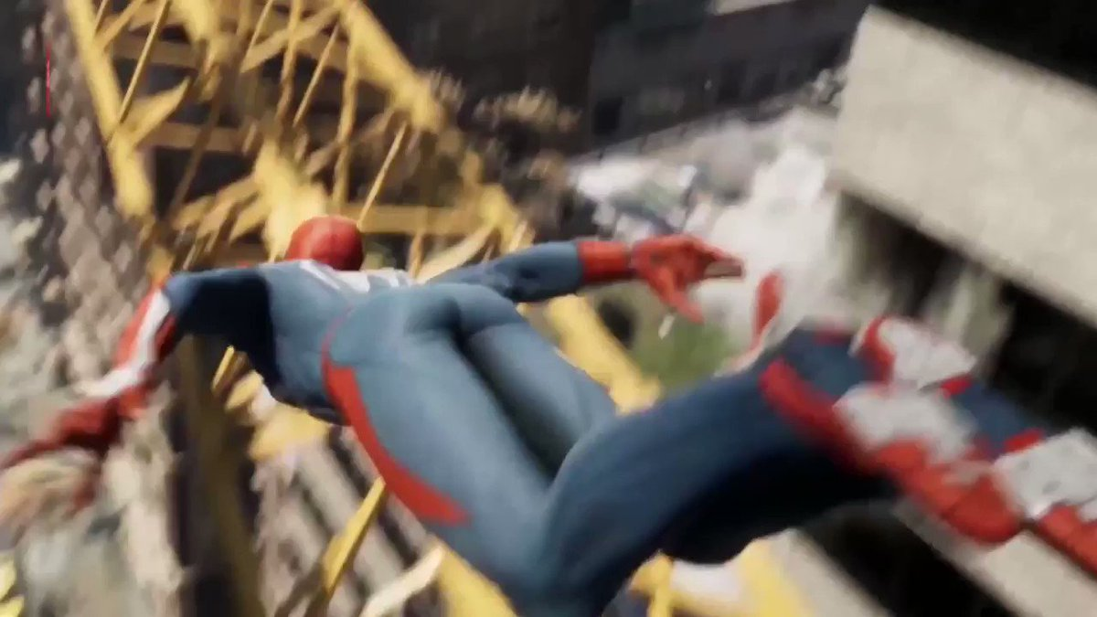 #SpiderMan on PS4 will have an open world 'several times larger' than Sunset Overdrive.
