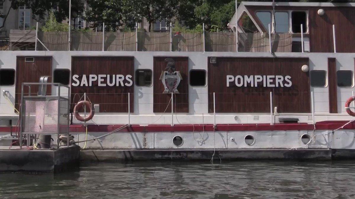 Chef d'une caserne sur la Seine ! Cyril...