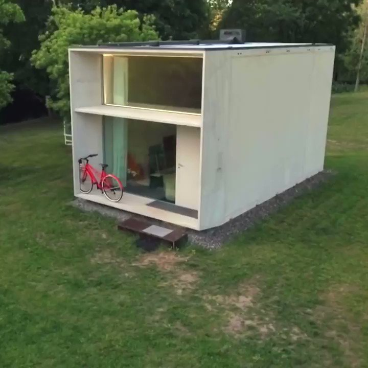 This tiny home can move with you