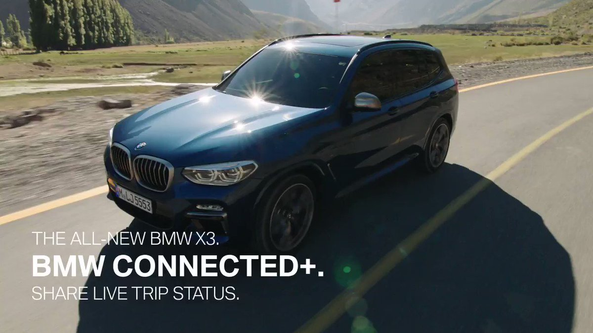 Bmw On Twitter One Click Is All It Takes Sending Travel Updates