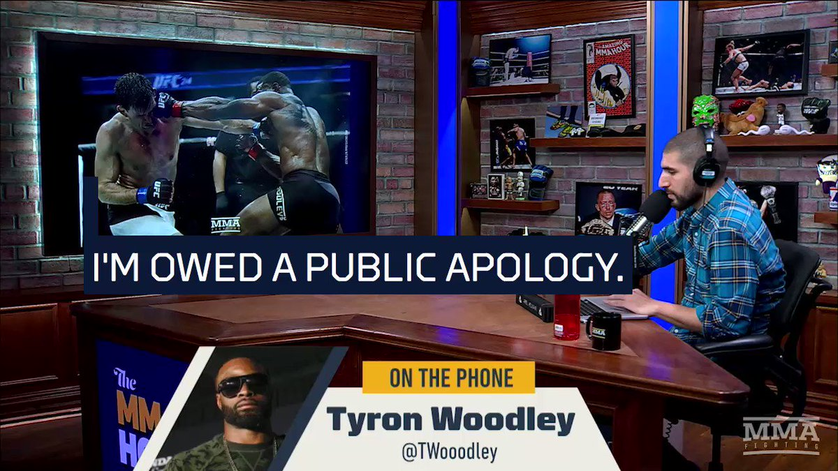UFC welterweight champ Tyron Woodley issues a furious ultimatum to Dana White | For The Win