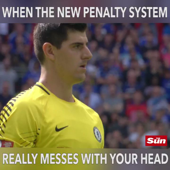 Chelsea manager Antonio Conte says Thibaut Courtois is 'one of the best' penalty takers despite Wembley miss