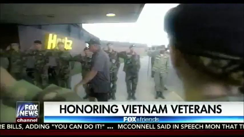 Vietnam veterans take honor flight and finally see a long-deserved welcome home   @LisaMarieBoothe https://t.co/AmttUxQXZt