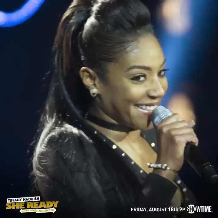 You ready? Cause #SheReady! Just 1 week until @TiffanyHaddish's Showti...