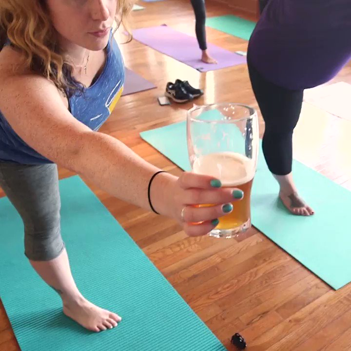 RT @thisisinsider: Beer yoga is the perfect way to celebrate #NationalBeerLoversDay https://t.co/oxKl3a8Q1f 1