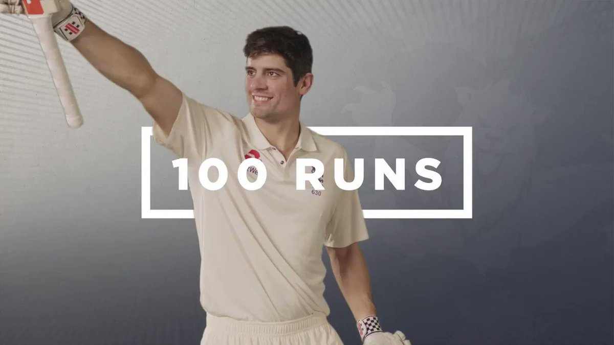 YESSS! A 31st Test century for Alastair Cook – he's a run machine 🙌  2...