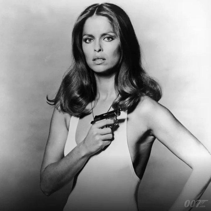 Happy Birthday to Barbara Bach. She played Major Anya Amasova in THE SPY WHO LOVED ME (1977).
