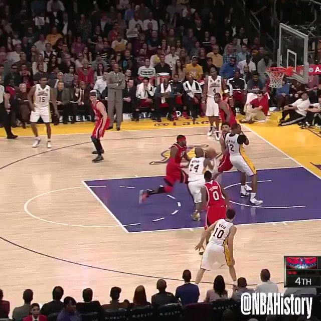 Kobe Bryant's best play against every team throughout his career. 💜💛  #20HoopClass Enshrinement: Saturday, May 15  https://t.co/nmQYsLWlNY