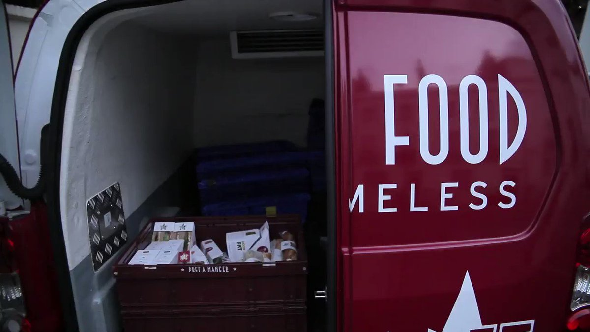 Every night, our fleet of vans deliver our unsold food to charities helping the hungry #goodfooddoinggood https://t.co/nDg3YxkCYu