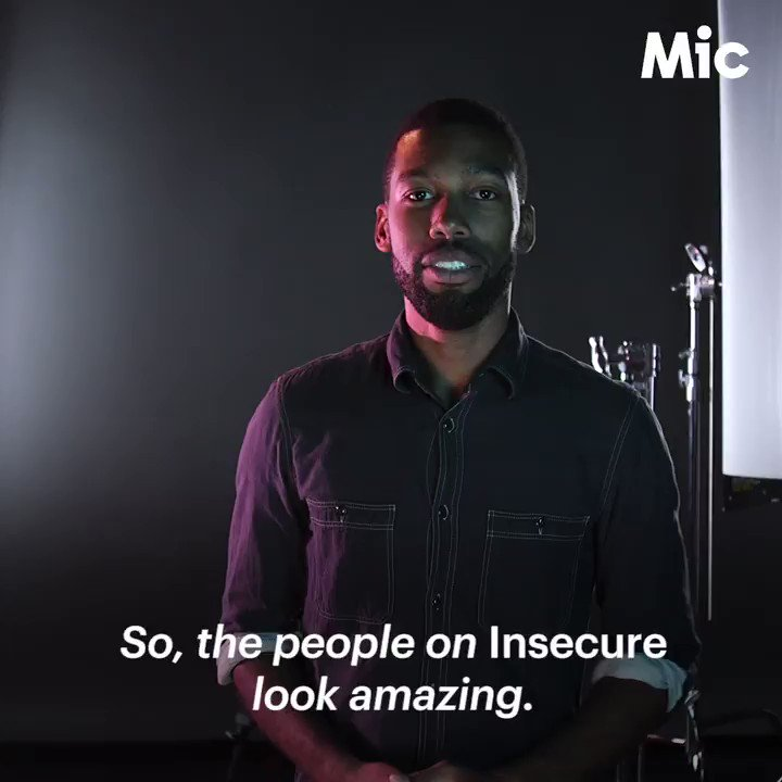 .@HBO's Insecure has mastered the cinematographic art of properly lighting black faces #HBOInsecure https://t.co/LdHH7oJDf5