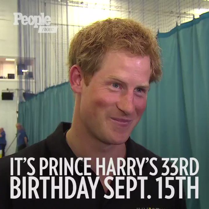 """Happy 33rd birthday to everyone\s favorite red-headed royal Prince Harry!"