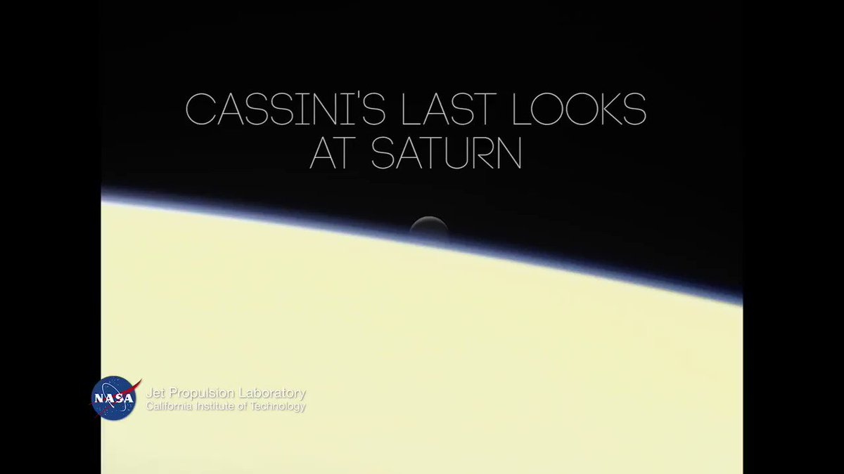 One last look…Explore the final @CassiniSaturn pics, taken just hours before its fateful plunge into the planet: https://t.co/dyewjqLoiZ