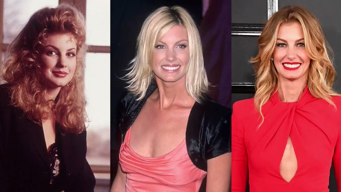 We like her, we love her, we want to age like her: Happy 50th birthday Faith Hill !