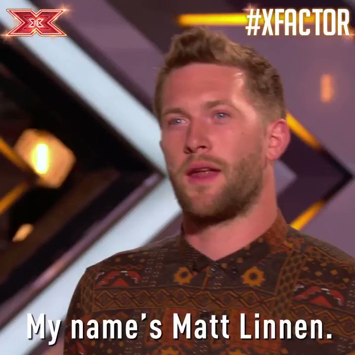 Friday's hotting up thanks to @MattLinnen 🔥 You're welcome 😉  https://t.co/GT0f05sA54 #XFactor https://t.co/aAHIDQMBdN