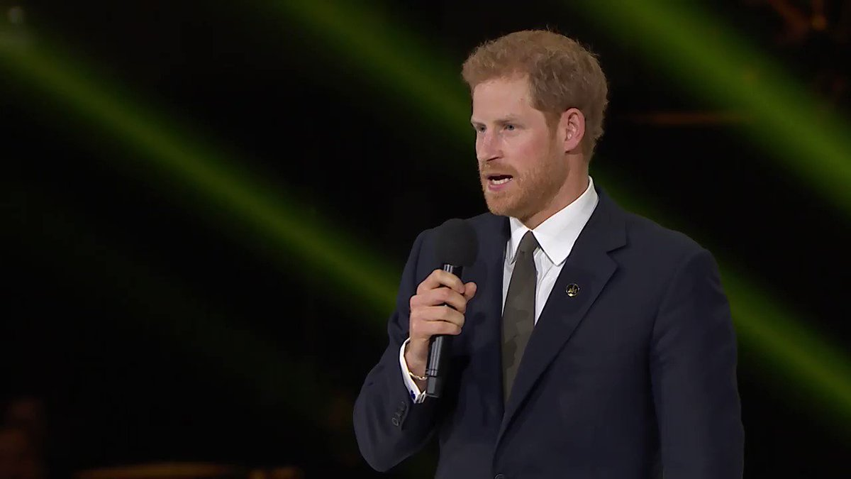 Watch Prince Harry's speech at the Opening Ceremony of @InvictusToront...