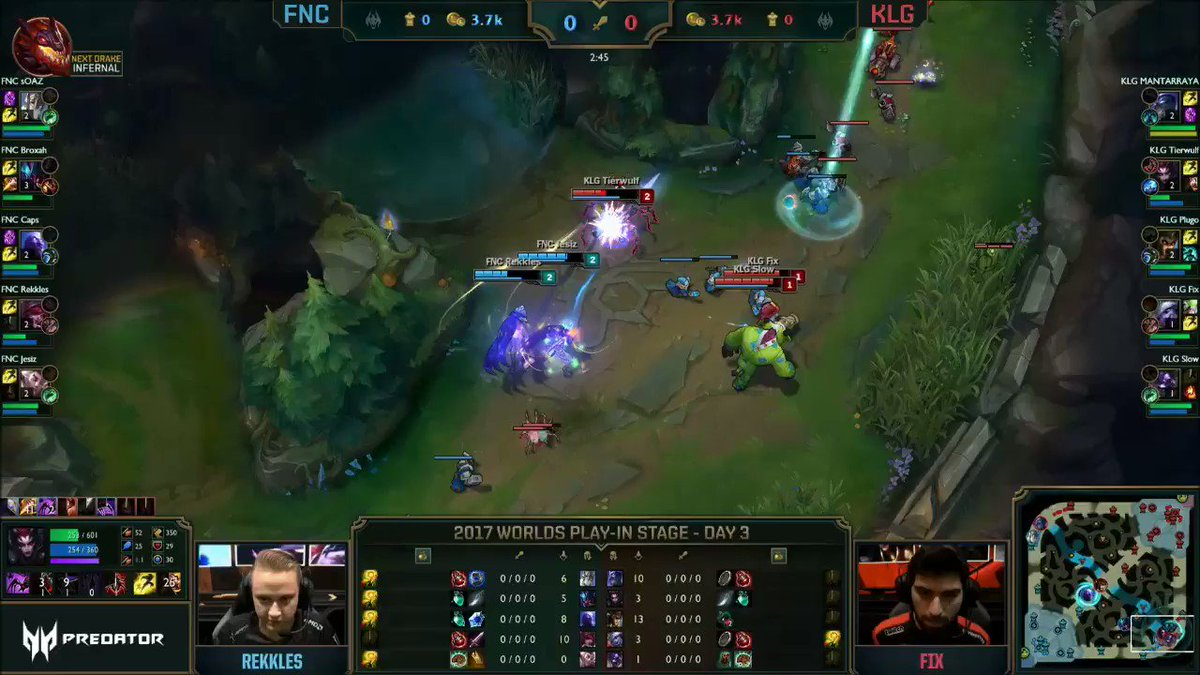 Storming start to game 1! #Worlds2017 https://t.co/hGAAcOtTQc