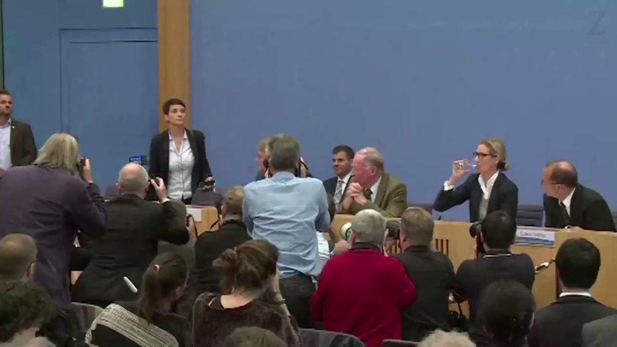 Parteichefin Frauke #Petry will nicht der Bundestagsfraktion der #AfD...