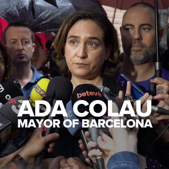 Please share this statement by @AdaColau, Mayor of Barcelona, on the #CatalanReferendum  https://t.co/wYgOelUMoL