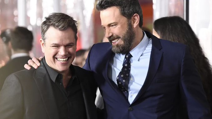 GettyImages: Happy Birthday, Matt Damon! Wherever you are, we hope you\re celebrating with your BFF.