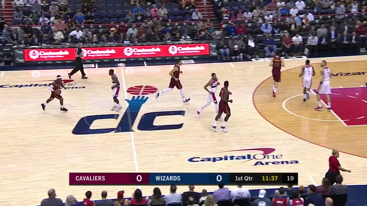The first basket of the game on @NBATV goes to Kyle Korver & the @...