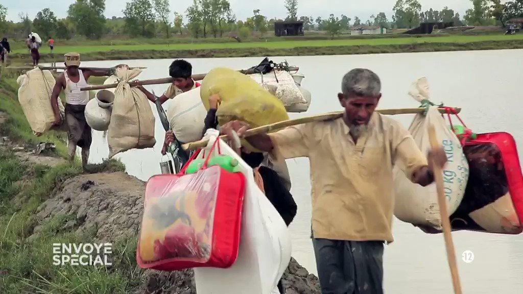 En un mois, 500 000 réfugiés sont arrivés au Bangladesh #Rohingyas #En...