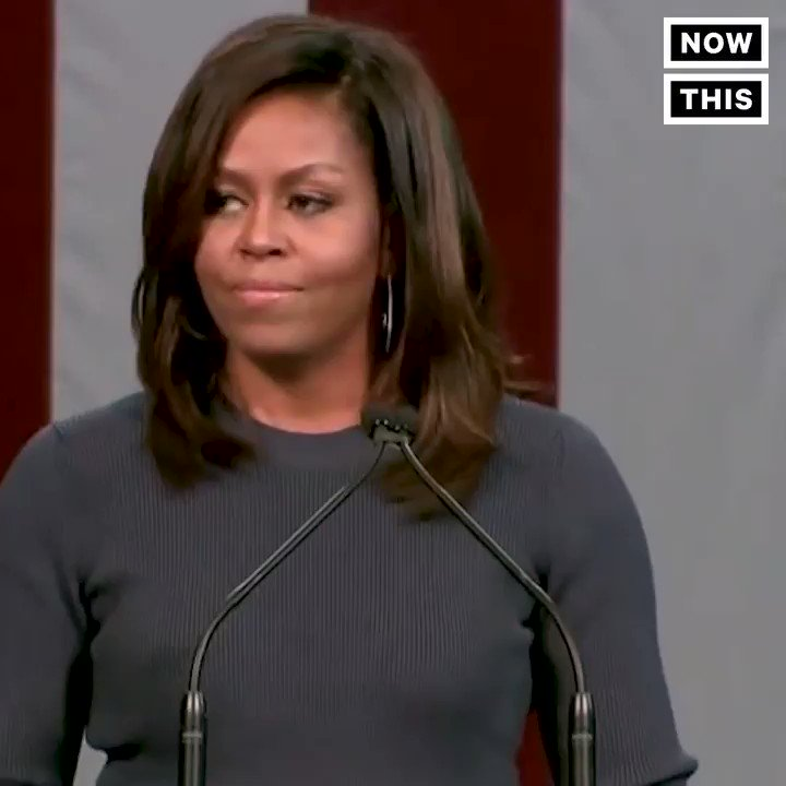 I can't imagine Melania Trump saying this, but if there ever were a time to copy Michelle, this would be it. #MeToo https://t.co/nz9WAgiGwA