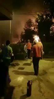 Imágenes de las llamas en Rúa de San Amaro, en el centro de Vigo https://t.co/oU4Nra3zav https://t.co/IoTR53GvP5