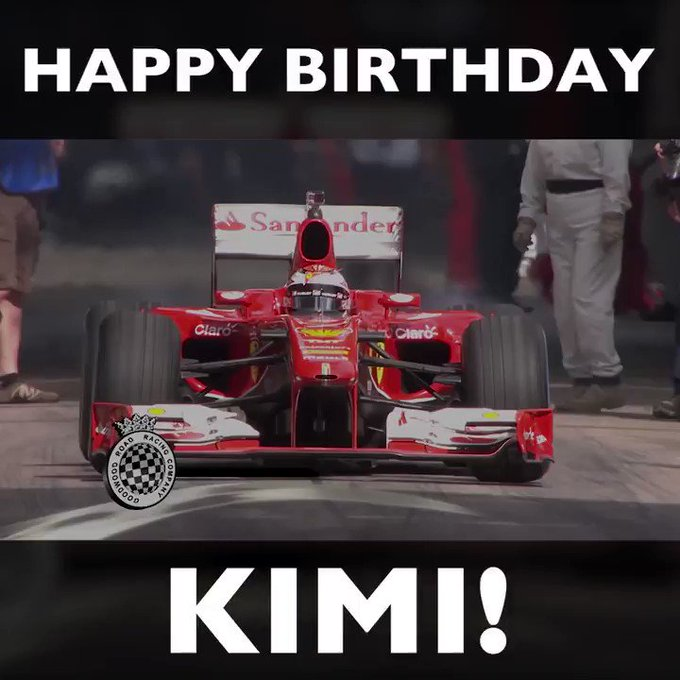 Happy birthday Kimi Raikkonen! Remember how he thrashed the hill, style at