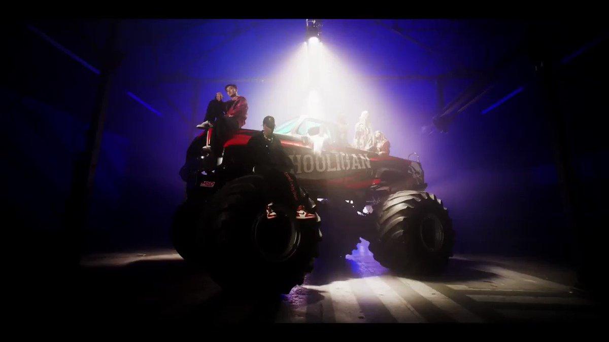Monster truck for a monster track. Check...