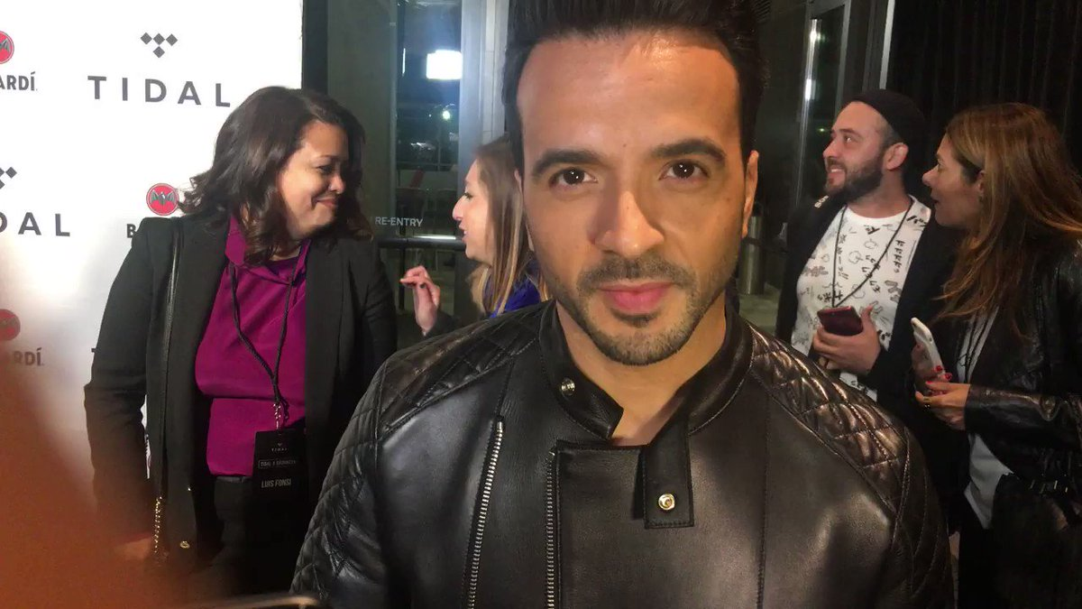 Who's excited to see @LuisFonsi open the show tonight at #TIDALXBrookl...