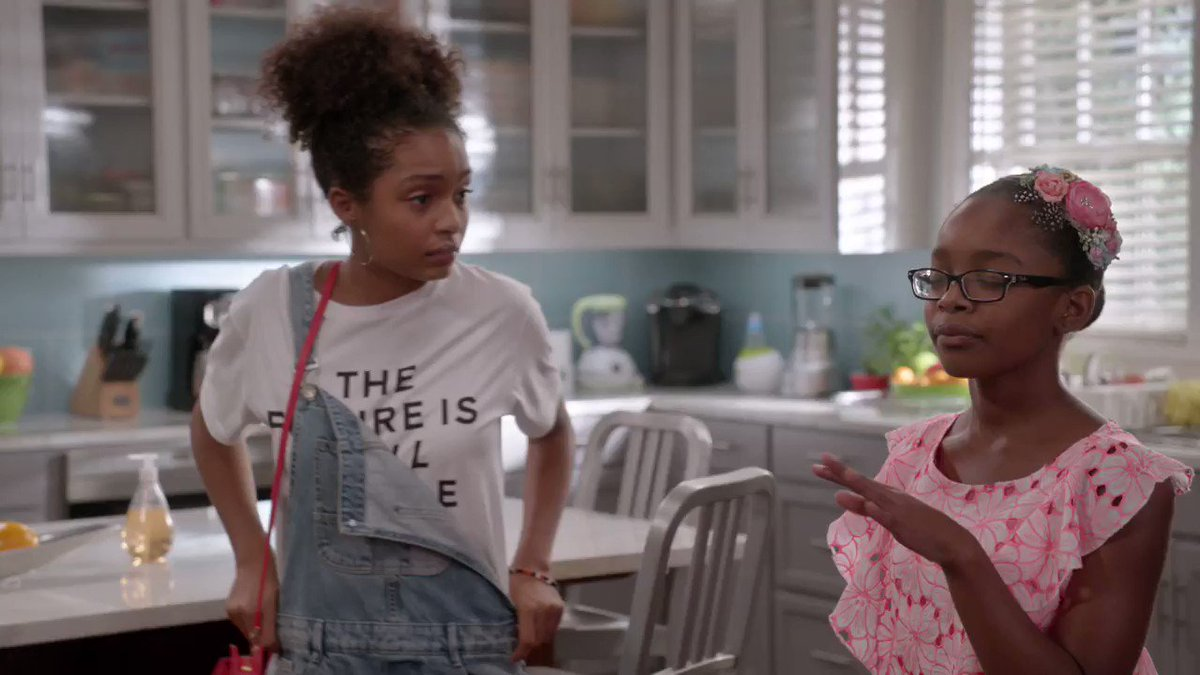 Sorry Aaron, Diane's not looking for a project! #BoyBye #blackish http...
