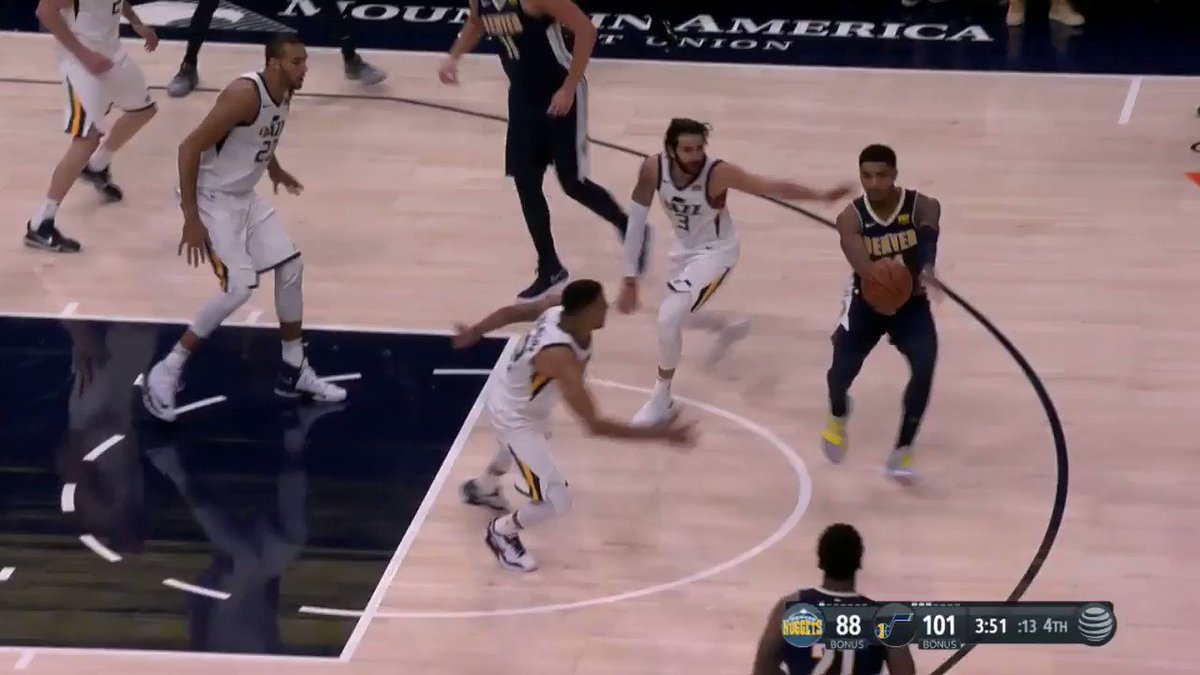 Career assist No.3000 for Ricky Rubio! #TakeNote https://t.co/O6WDvVRU...