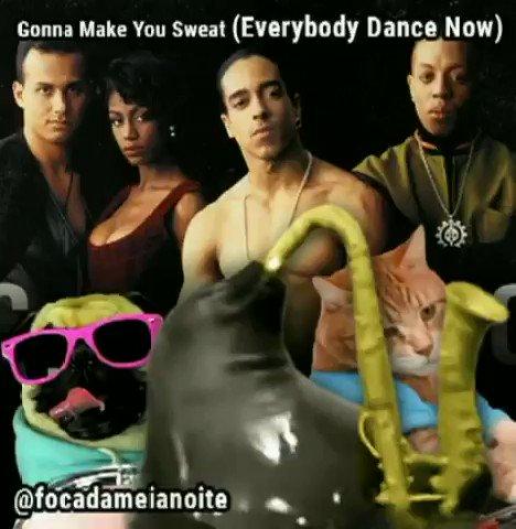 MEIA-NOITE! Gonna Make You Sweat (Everyb...