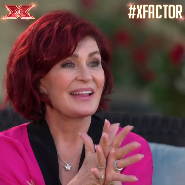 .@MrsSOsbourne loved @TGFM_RaiElle's little rap and SO. DID. WE. ❤️ #XFactor #JudgesHouses https://t.co/aomA0PjJgh