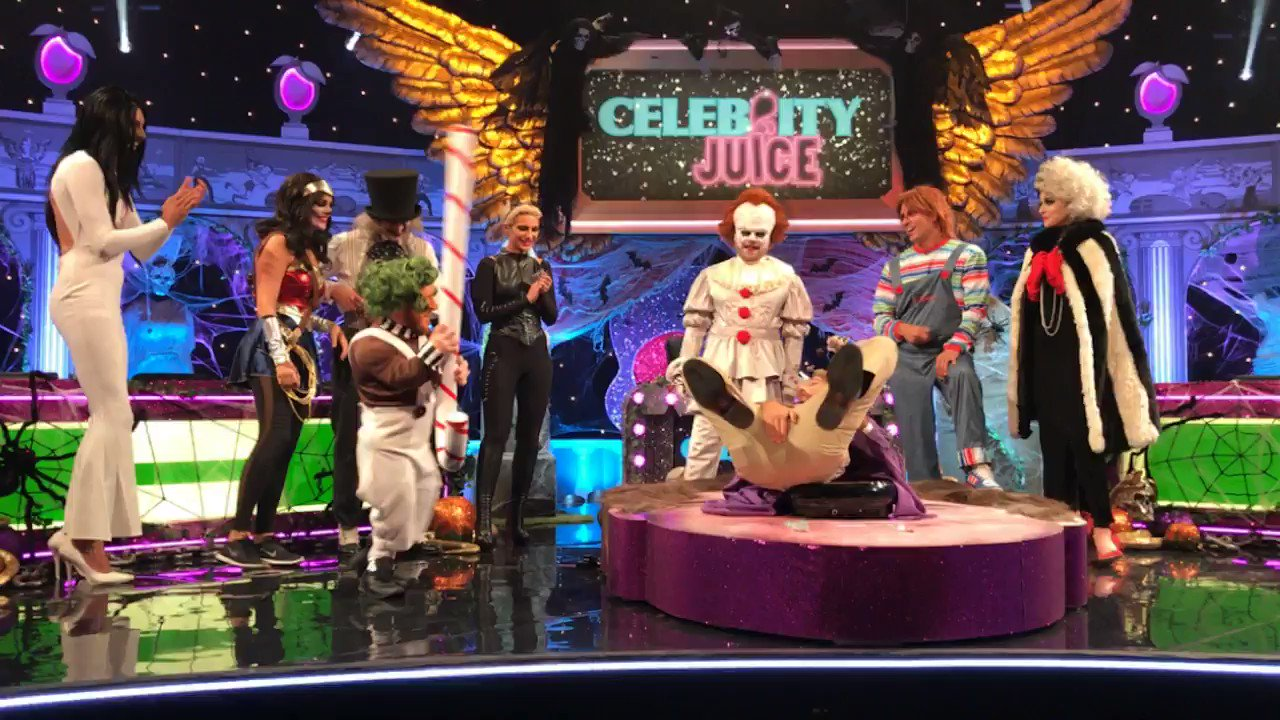 RT @CelebJuice: SNEAK PEAK: Watch what this is all about and so much more this THURSDAY, 10pm @itv2 #CelebJuice https://t.co/WGmpyjIWoh