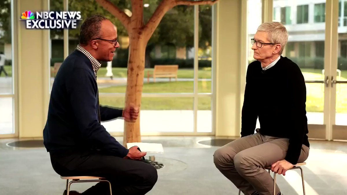 Apple CEO Tim Cook to Appear on NBC Nightly News Tonight