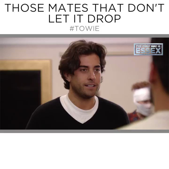 We love that @JamesBennewith is constantly giving @dan_edgar1 a hard time 😂🙊     #TOWIE https://t.co/AcJ8iaufSA