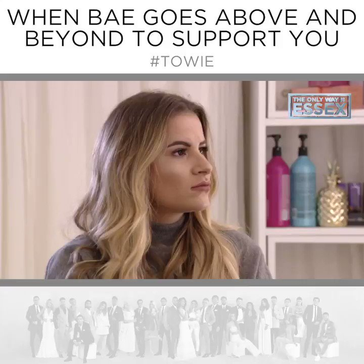 Seriously @tommy_mallet what a way to support your girl 👏🙌     #TOWIE https://t.co/CNJfas18un
