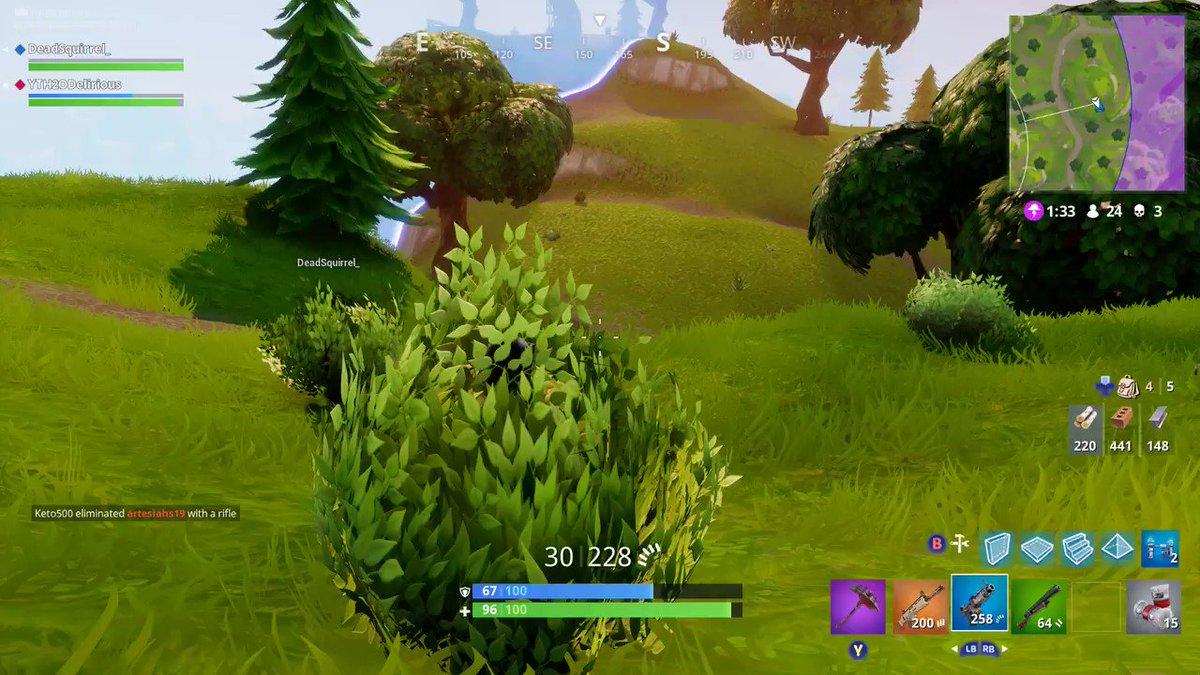 Trucos Y Guía Para Usar El Arbusto En Fortnite Battle Royale