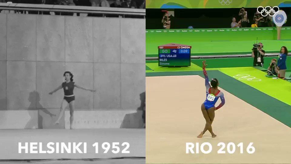 Olympics On Twitter First And Last Womens Floor Gold Medallists Tbt Helsinki 1952