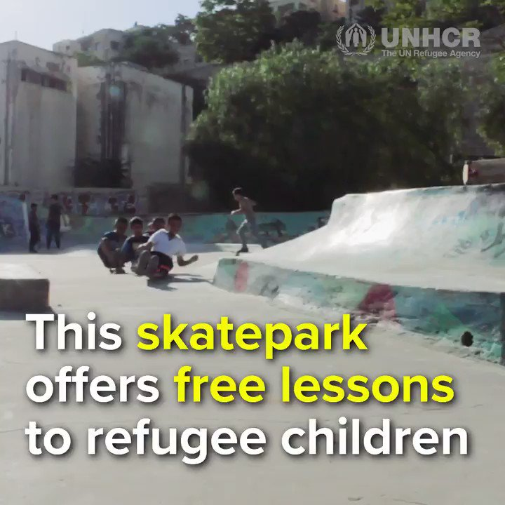 RT @Refugees: Thanks to @7HillsPark, refugee children have a safe space to have fun. #WithRefugees https://t.co/ZRsVaKOV7j