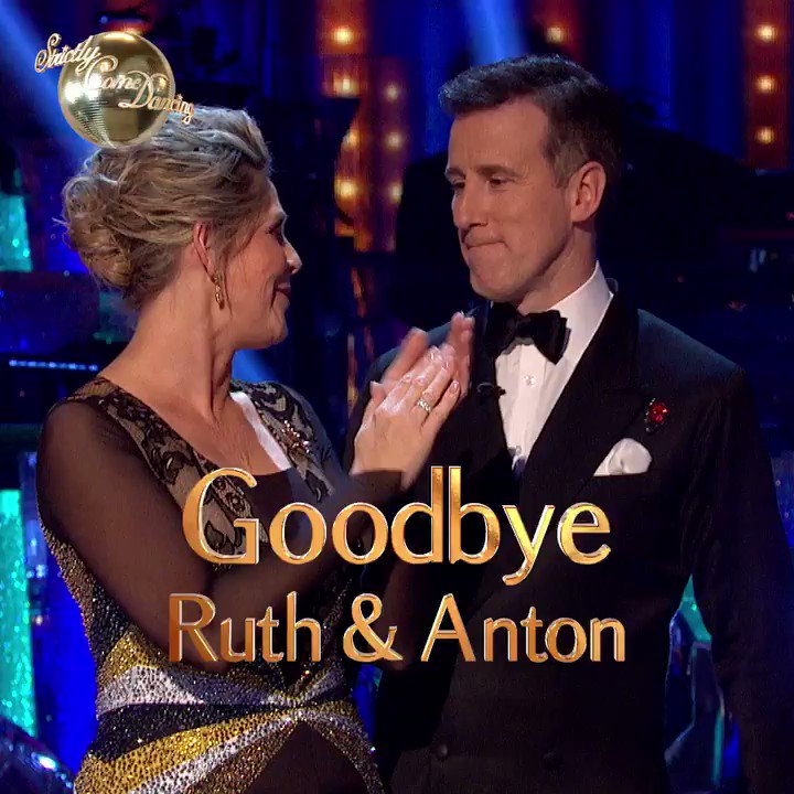 ✨ @RuthieeL and @TheAntonDuBeke are a real class act. You'll be missed! #Strictly https://t.co/tItNEI9ysM