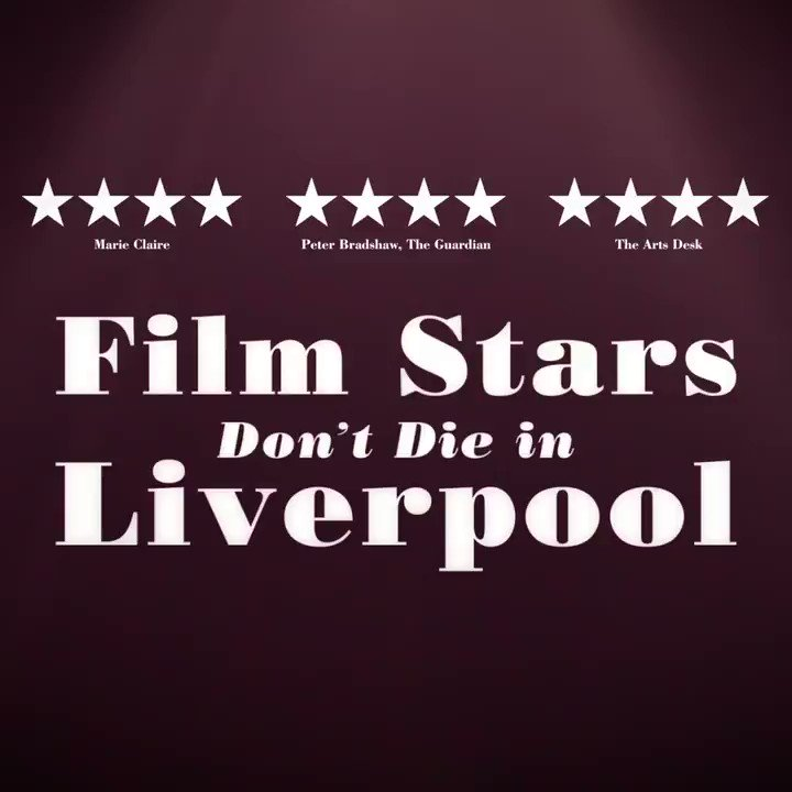 💫 He's a young actor, she's a Hollywood leading lady. See Jamie Bell and Annette Bening in #FilmStarsDontDieInLiverpool.💫 In cinemas now!