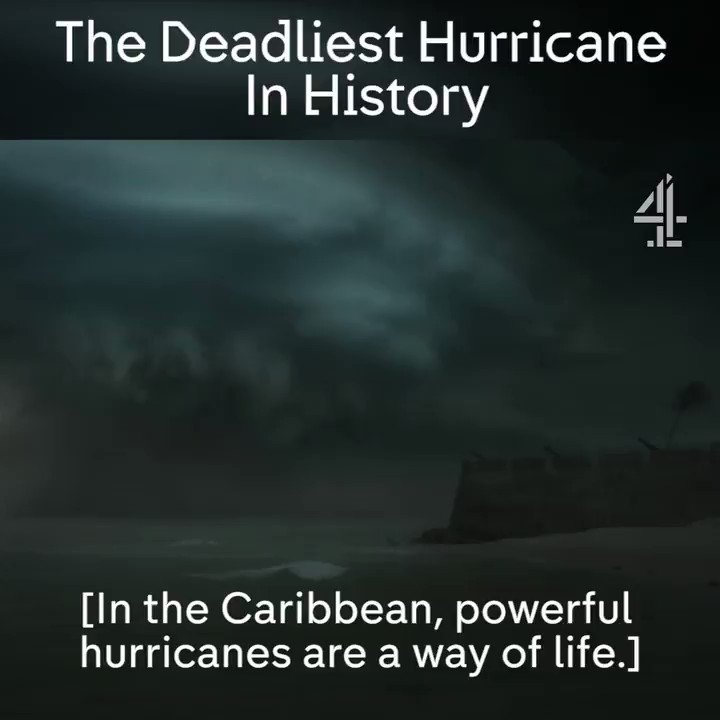 The great hurricane of 1780 killed an estimated 22,000 people. #VolatileEarth https://t.co/8HSplvEWFq