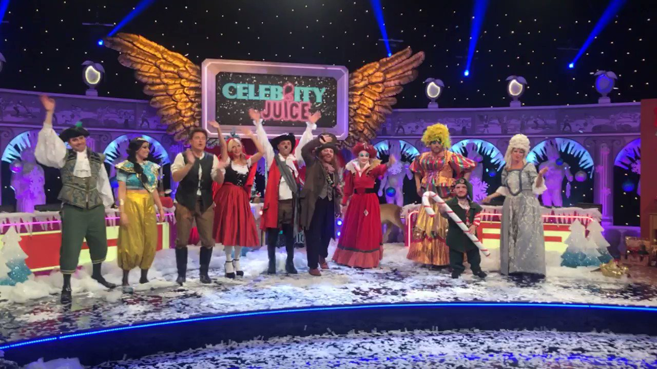 Wishing you all a very Merry Christmas! #CelebJuice https://t.co/66E5ETwj9C