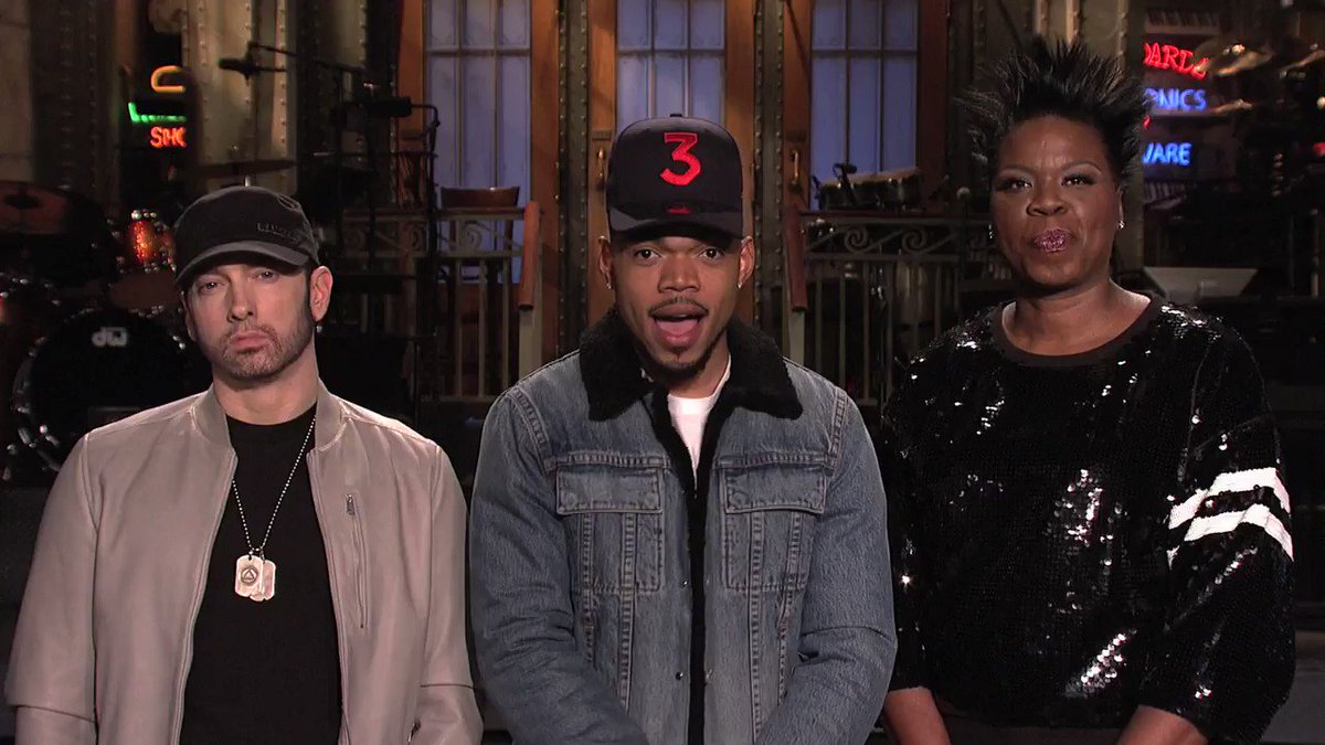SNL tomorrow with host @chancetherapper!...