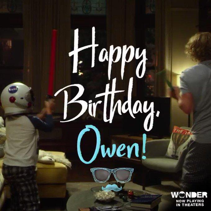 Happy Birthday to the coolest dad around, Owen Wilson.